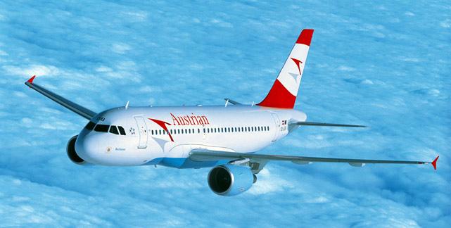 Austrian Airlines Flugzeug