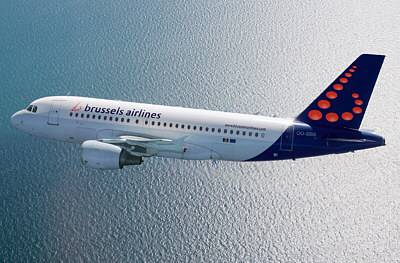 Brussels Airlines Flugzeug