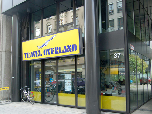 Travel Overland Filiale in München
