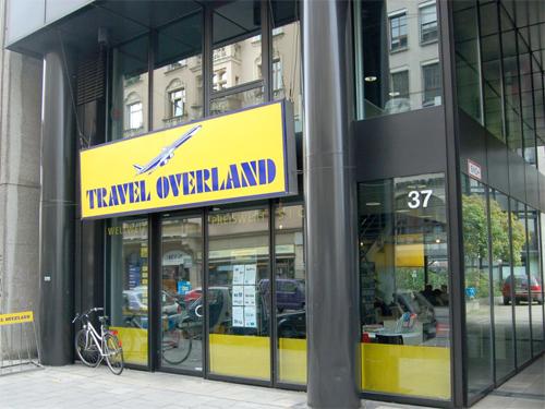 Travel Overland Filiale in München